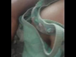 Exotic Indian Mammy Masturbation Panties