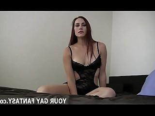 BDSM Blowjob Fetish Ladyboy POV Strapon