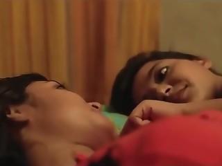 Beauty Indian Kiss Lesbian